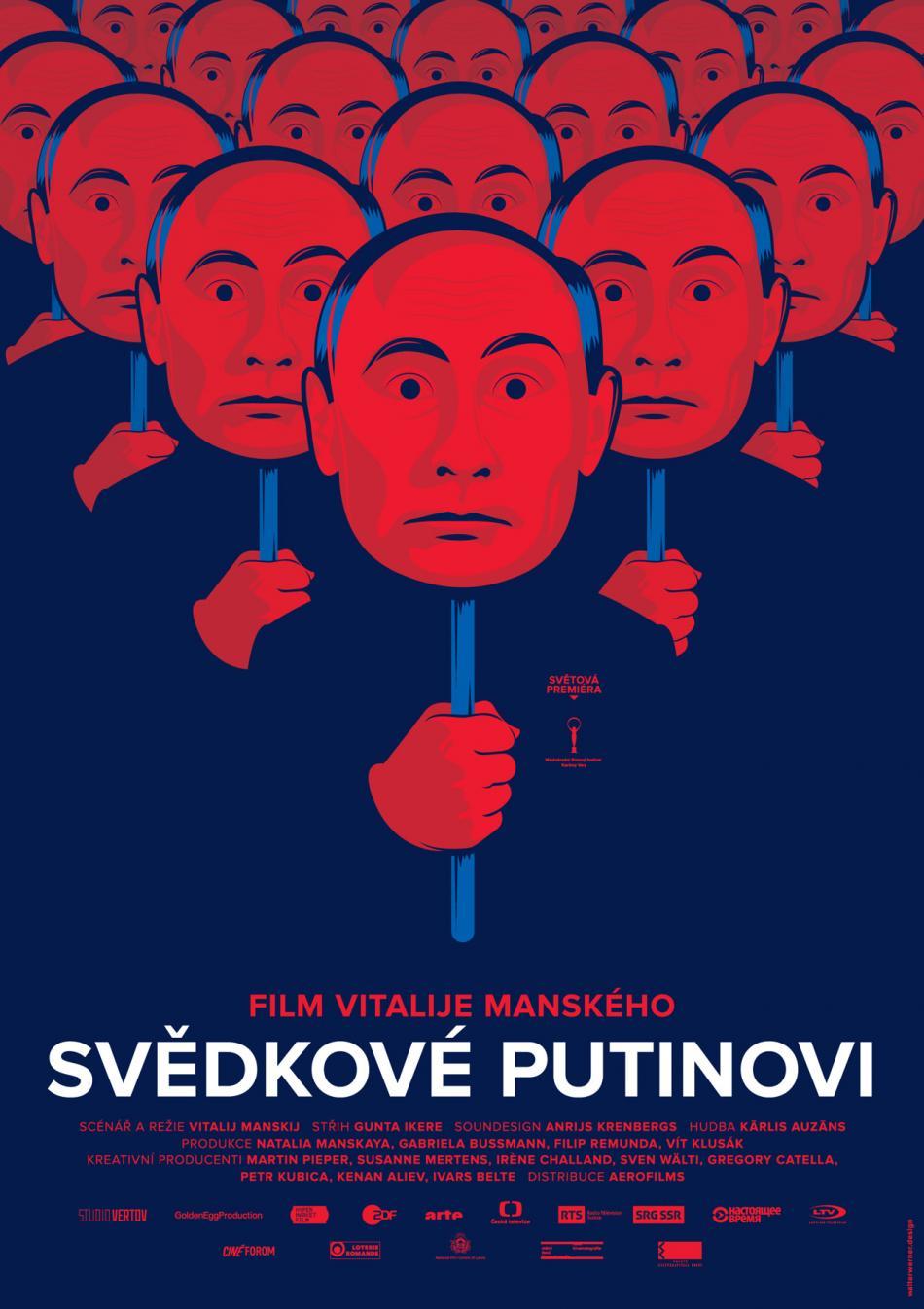 Plakát k dokumentu Svědkové Putinovi