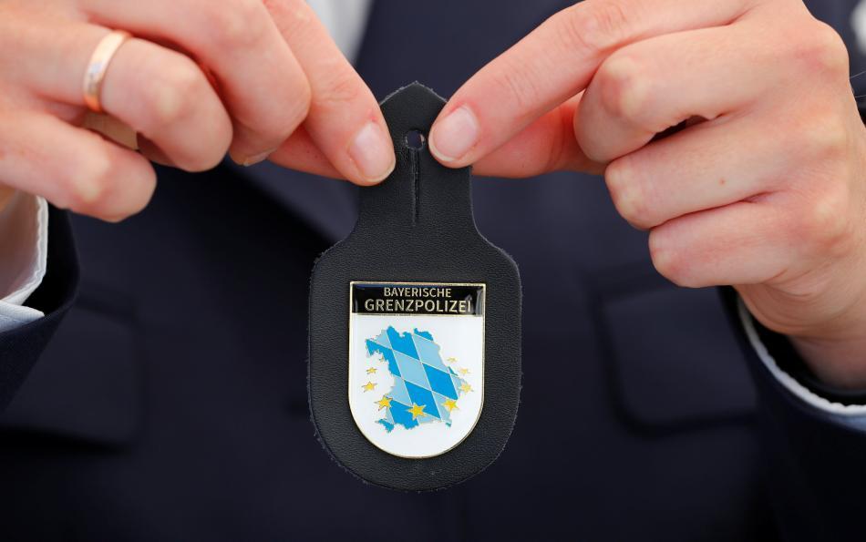 Odznak bavorské pohraniční policie