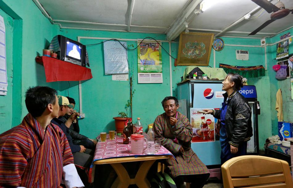 Bhútánci mohou sledovat televizi už skoro dvacet let