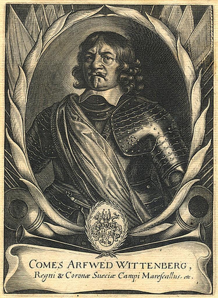 Polní podmaršálek Arvid hrabě Wittenberg