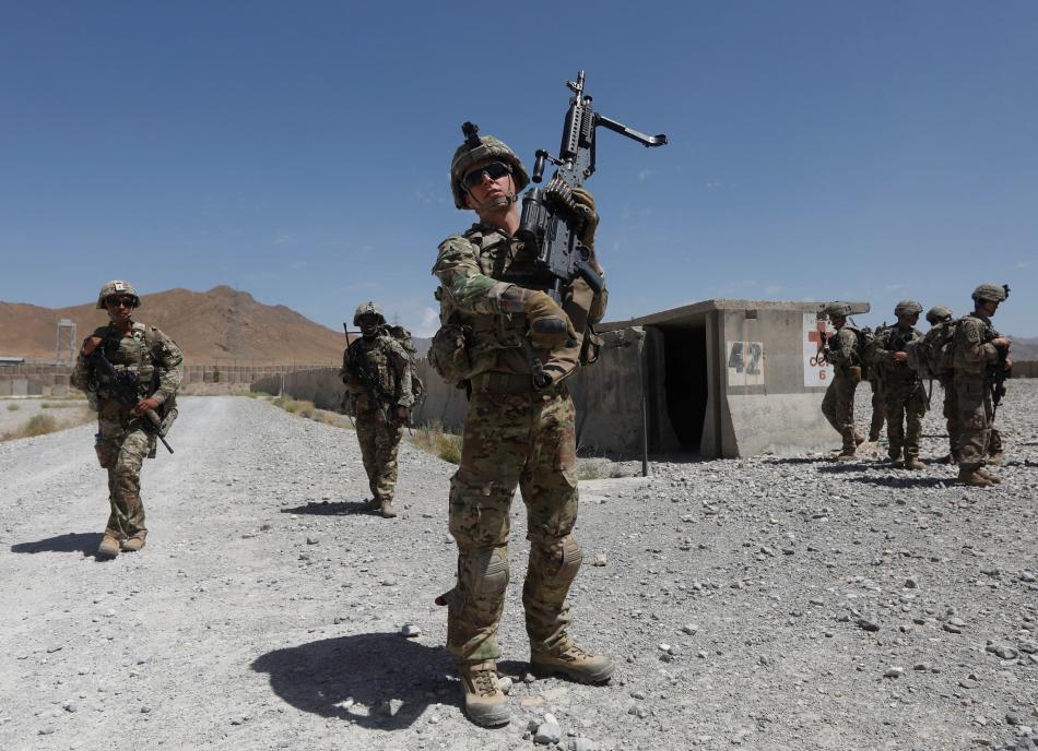 Americké jednotky v Afghánistánu
