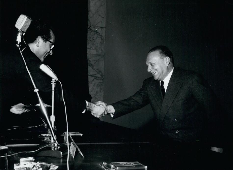 Riccardo Morandi (vpravo)