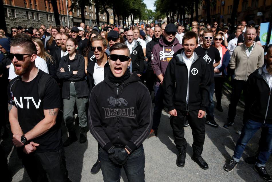Přívrženci Nordického hnutí odporu