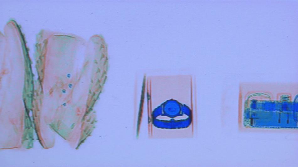 Všechny balíky procházejí rentgenem