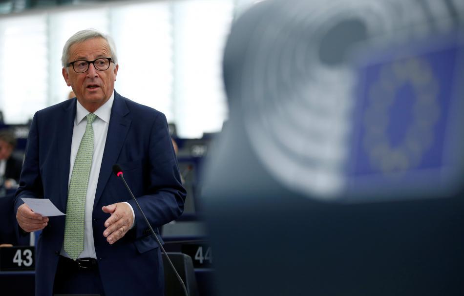 Jean-Claude Juncker v Evropském parlamentu