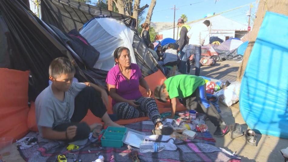 Rodina Imeldy Limaové žije v Tijuaně na chodníku