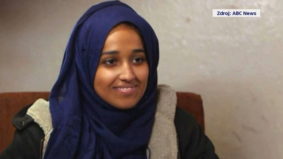 Hoda Muthanaová na snímku zveřejněném serverem ABC News