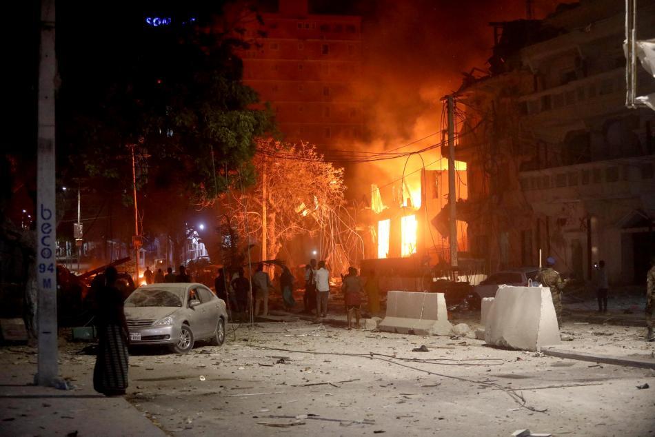 Sebevražedný útok v Mogadišu