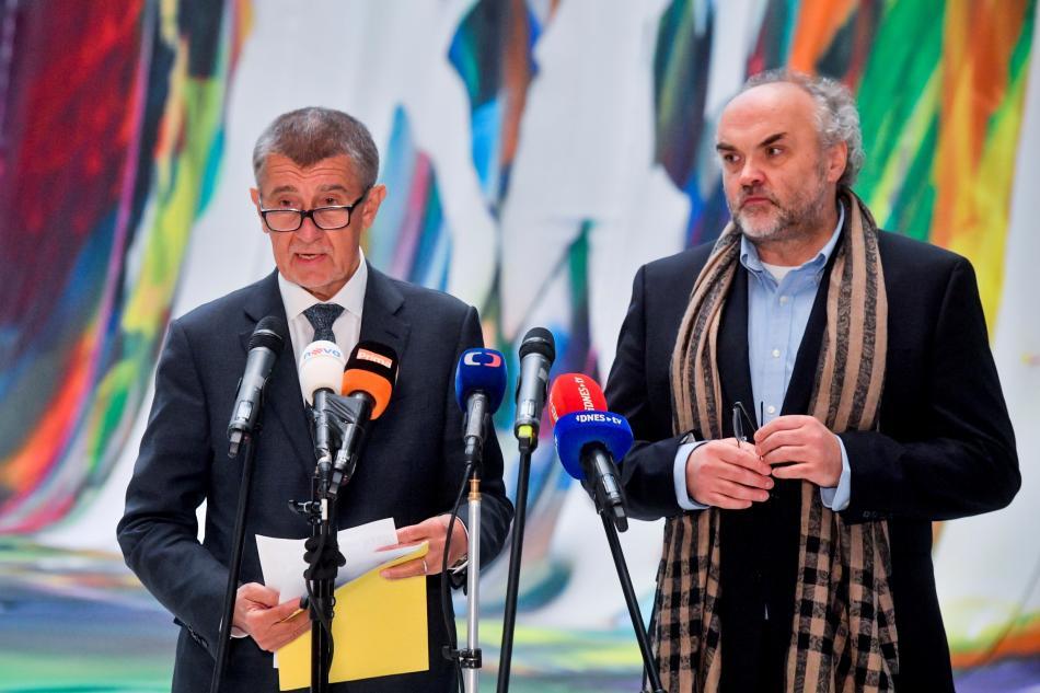 Andrej Babiš a Jiří Fajt