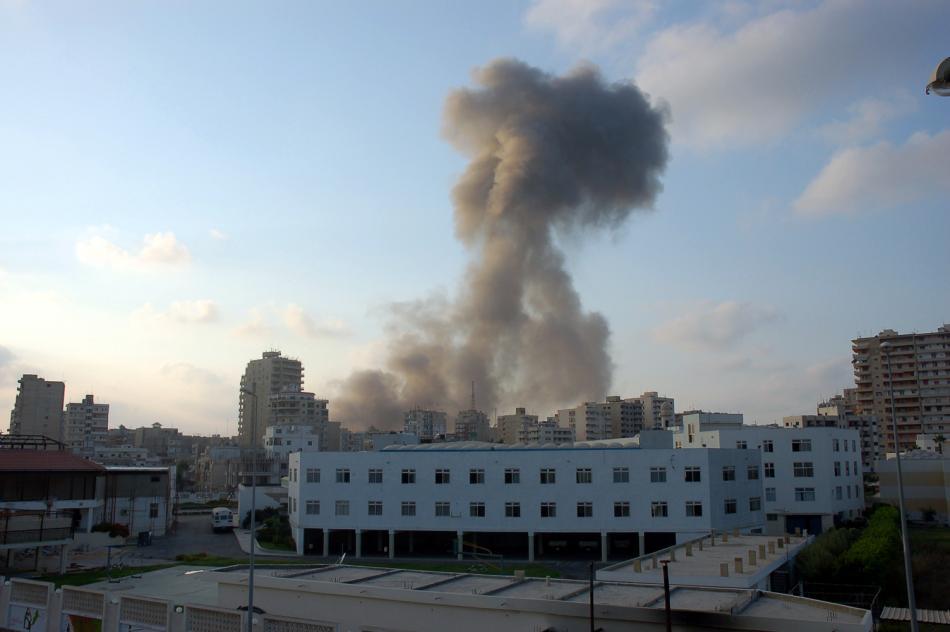Izraelské bombardování Týru v roce 2006