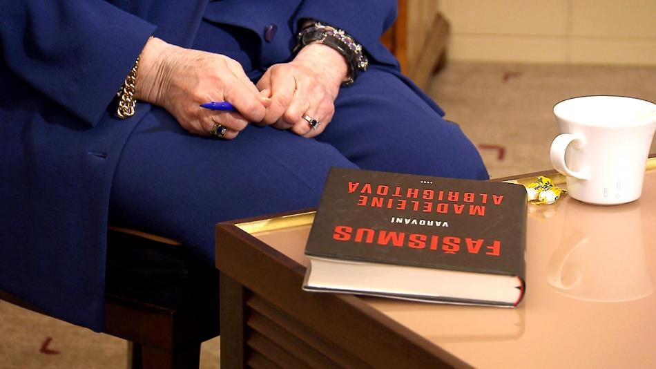 Kniha Madeleine Albrightové