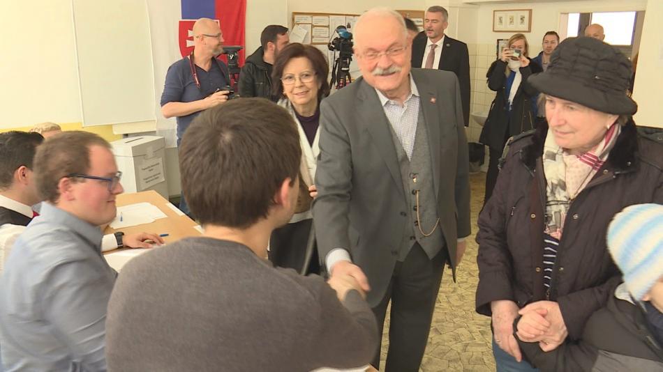Ivan Gašparovič u voleb