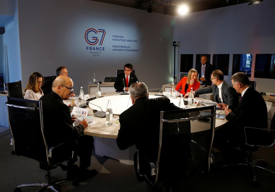 Jednání ministrů zahraničí skupiny G7