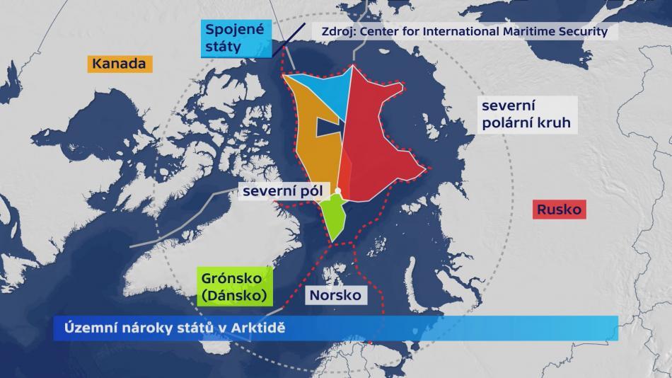 Územní nároky v Arktidě