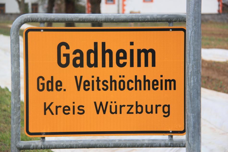 Gadheim se stane středem EU