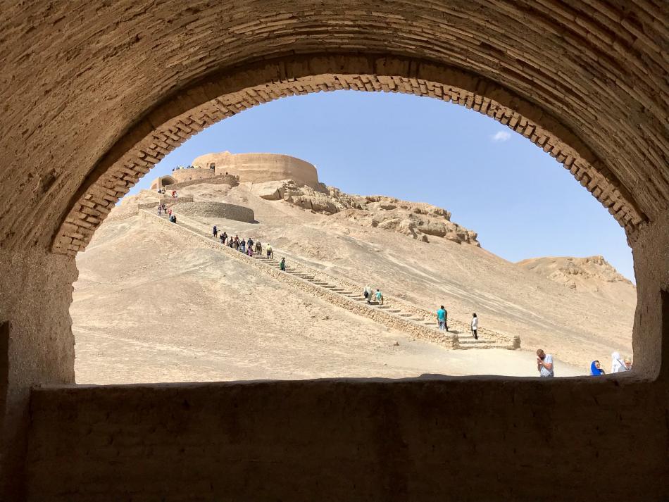 Jedna ze zoroastrijských věží ticha