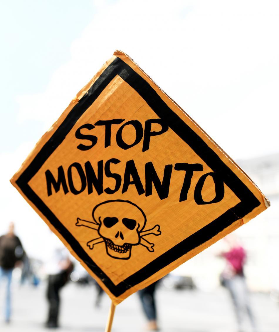 Protest proti Monsantu v Německu