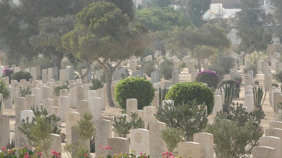 Vojenský hřbitov u El Alameinu