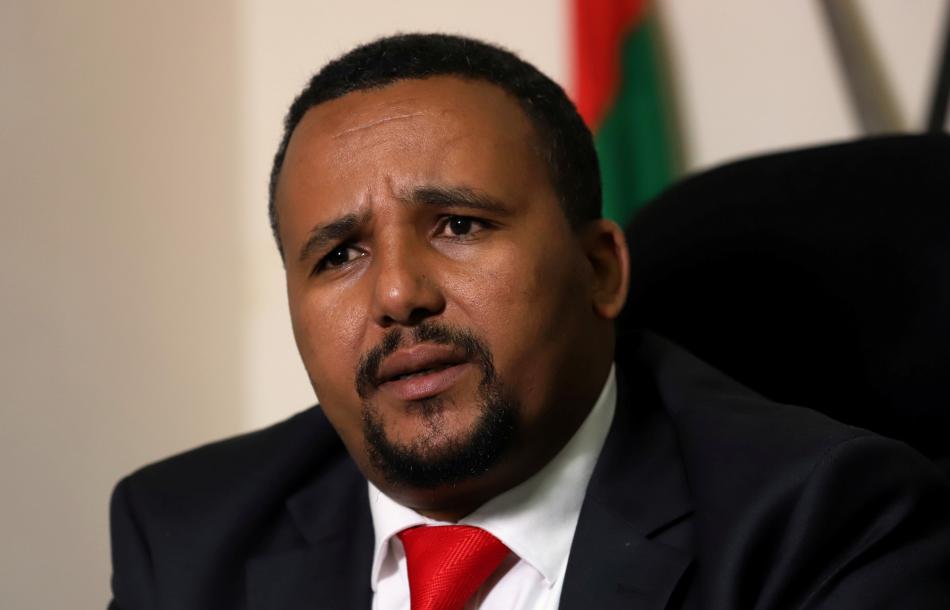 Etiopský opoziční novinář a aktivista Jawar Mohammed