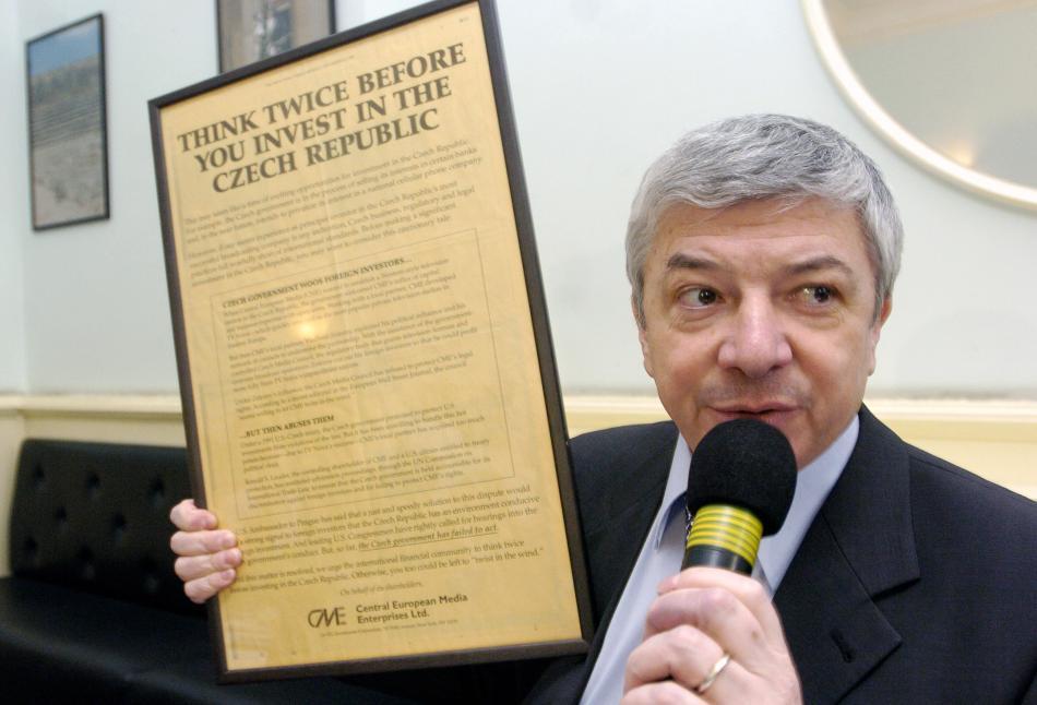 Vladimír Železný v roce 2004