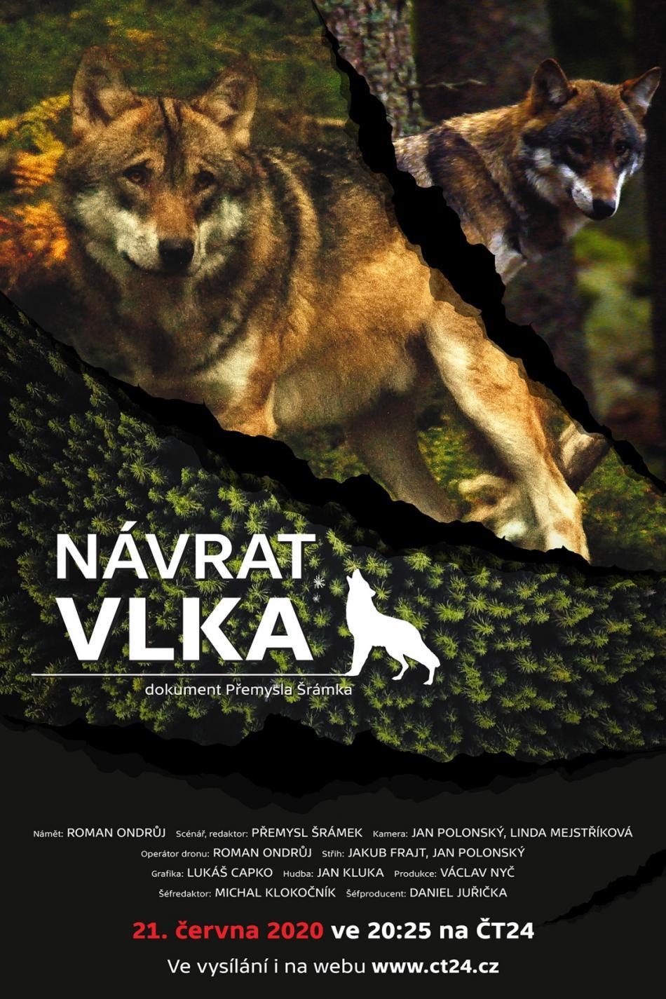 Poster k dokumentu Návrat vlka