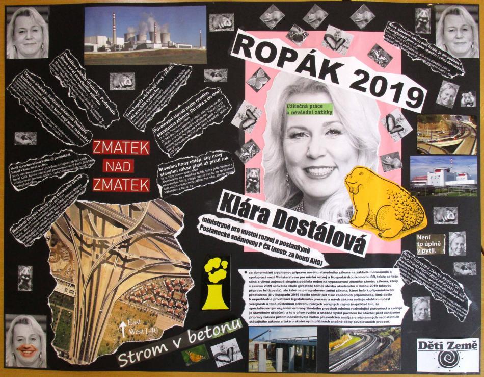Plakát - Ropák roku 2019
