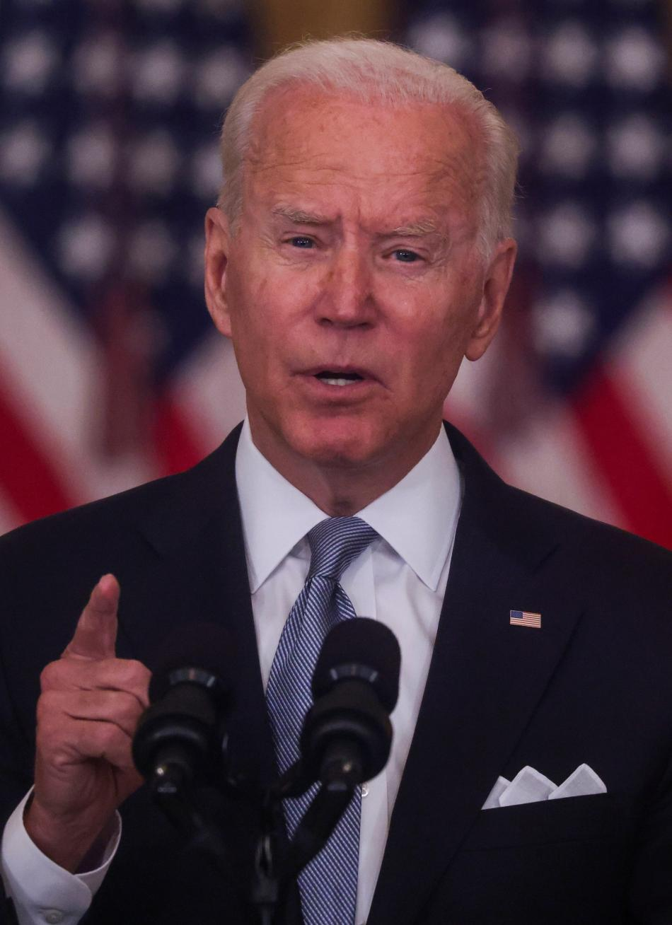 Americký prezident Joe Biden k situaci v Afghánistánu a postoji USA