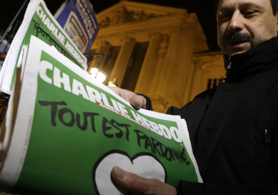 Nové vydání časopisu Charlie Hebdo