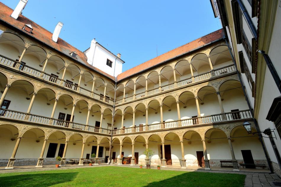 Arkády zámku v Bučovicích
