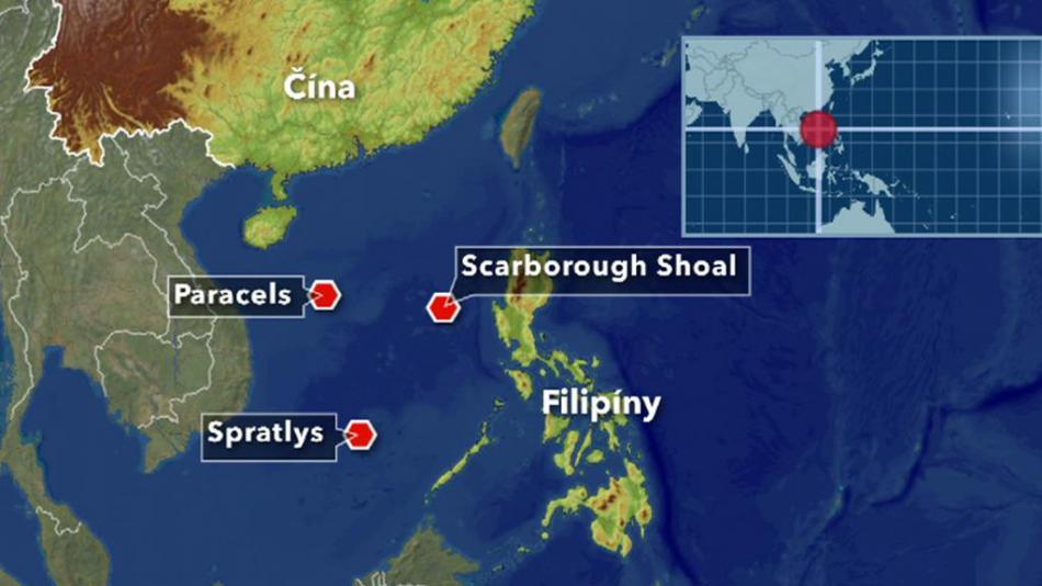 Sporná území v Jihočínském moři