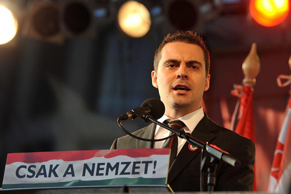 Předseda Jobbiku Gábor Vona