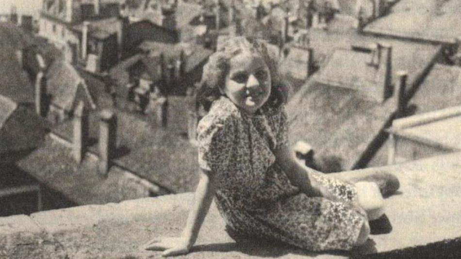 Marie Korbelová v dětských letech