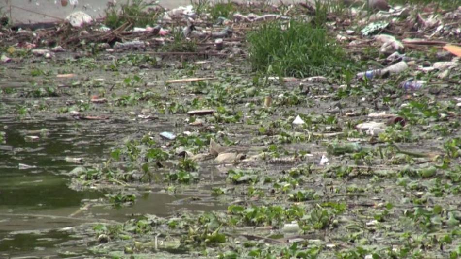 Jezero Tchaj je symbolem ekologické neschopnosti Číny