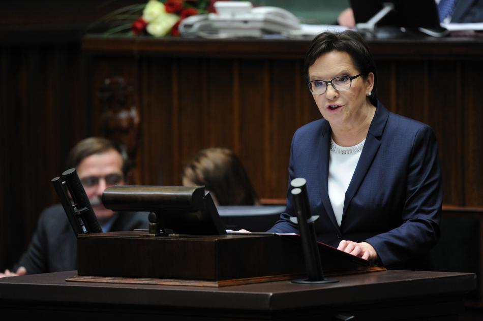 Ewa Kopaczová oficiálně složila premiérskou funkci