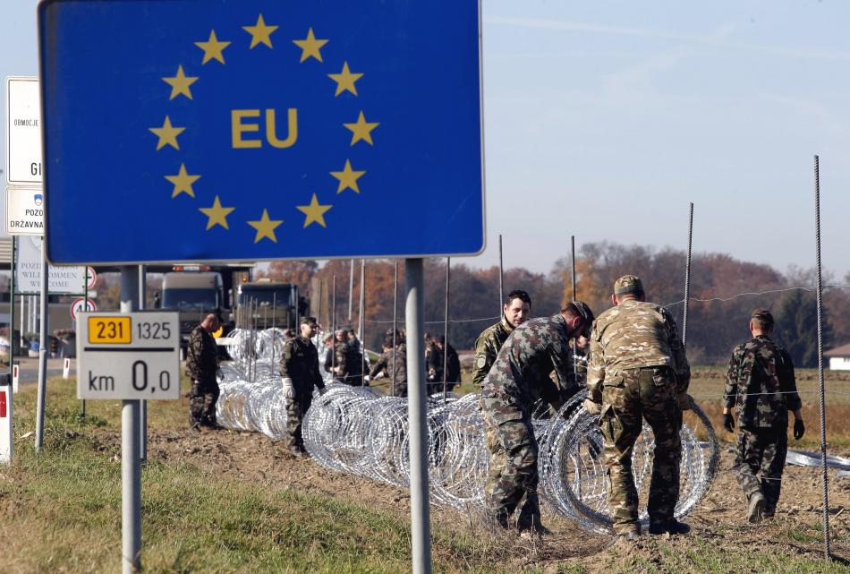 Rakousko postaví plot na hranici se Slovinskem (ilustrační foto)