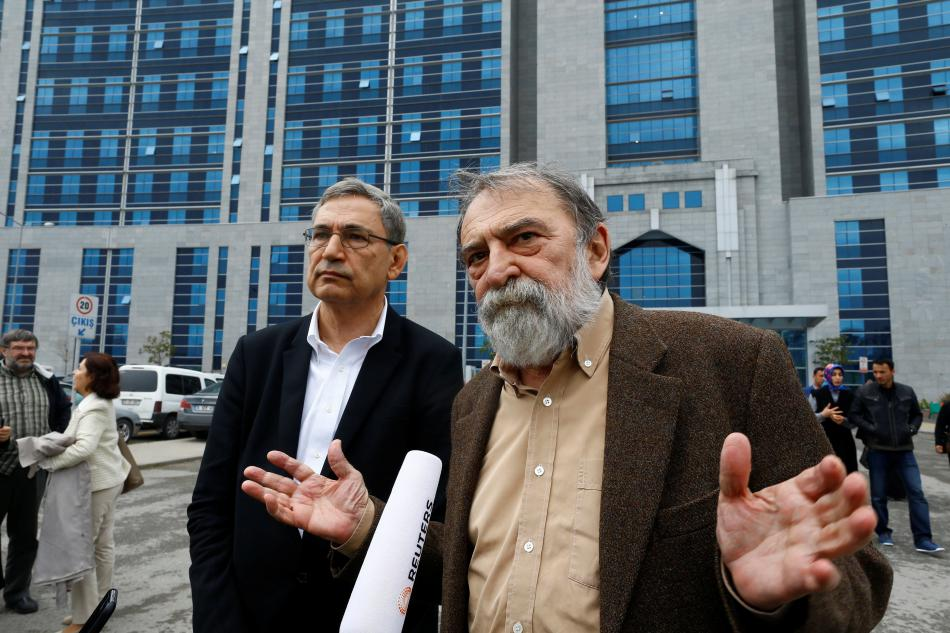 Turecký spisovatel Orhan Pamuk