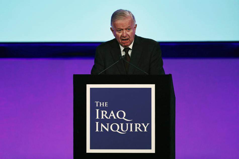 Sir John Chilcot představuje vyšetřovací zprávu