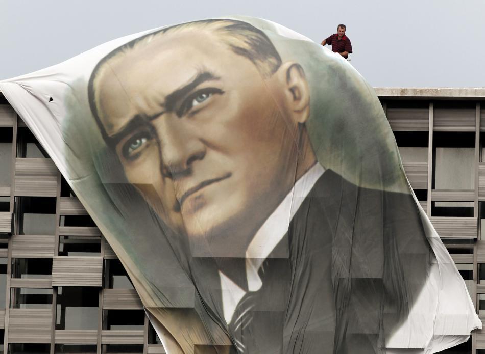 Portrét Mustafy Kemala Atatürka