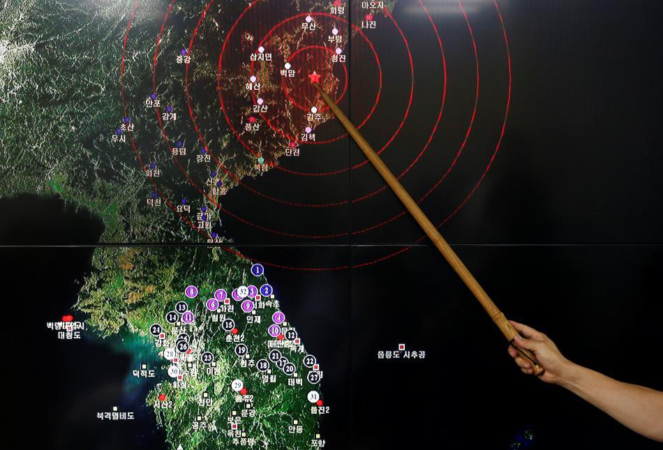 Severní Korea provedla další jaderný test