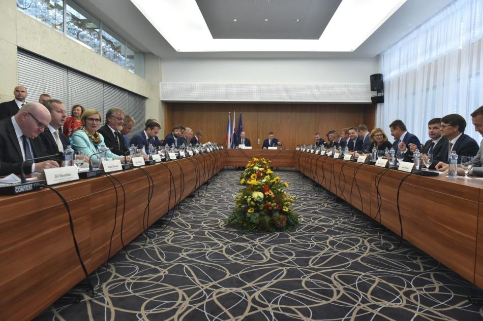 Společné zasedání vlád Česka a Slovenska