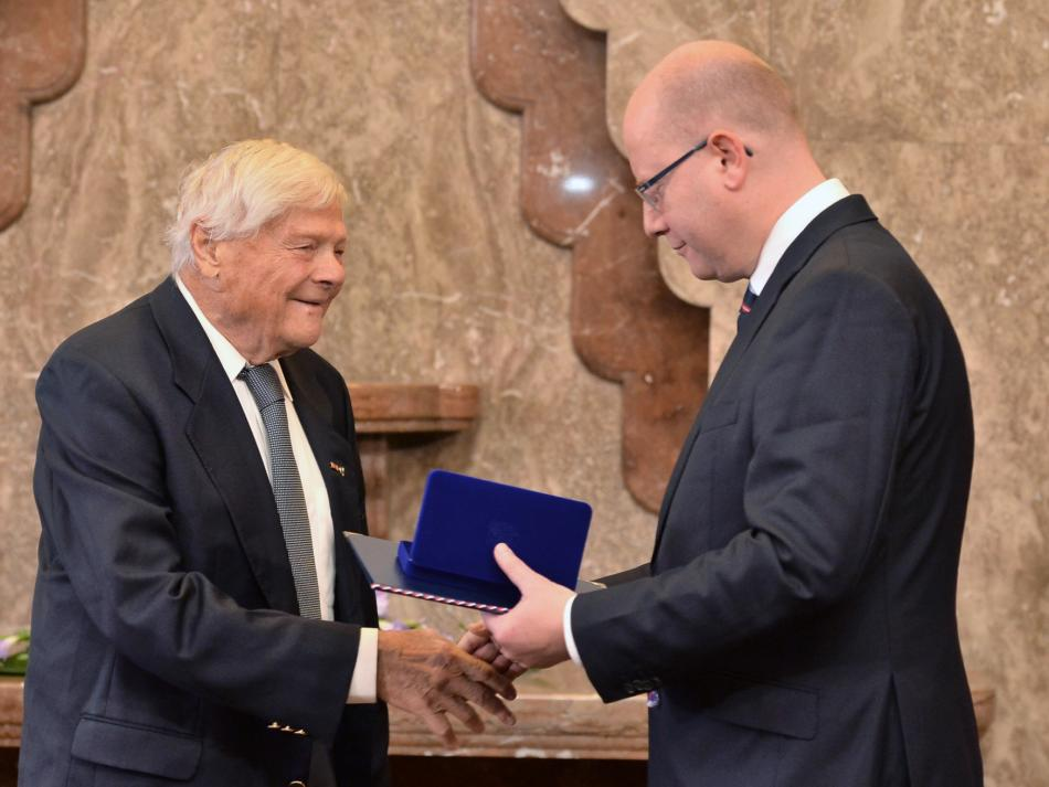 Bohuslav Sobotka a Jiří Brady