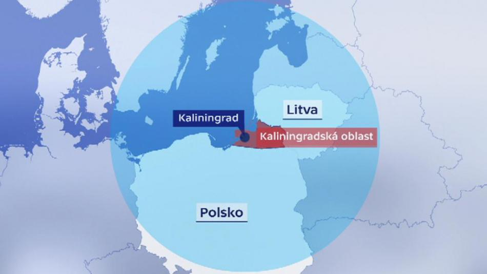 Oblast doletu ruských raket