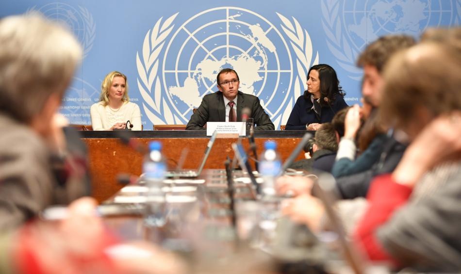 Jednání v ženevské sídle OSN