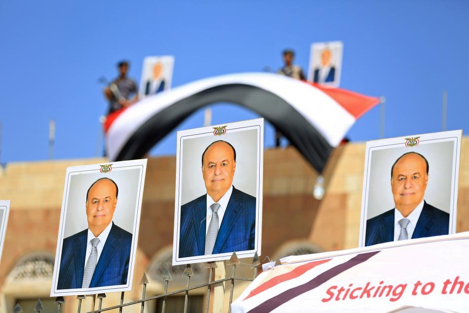 Plakáty s prezidentem Hádím