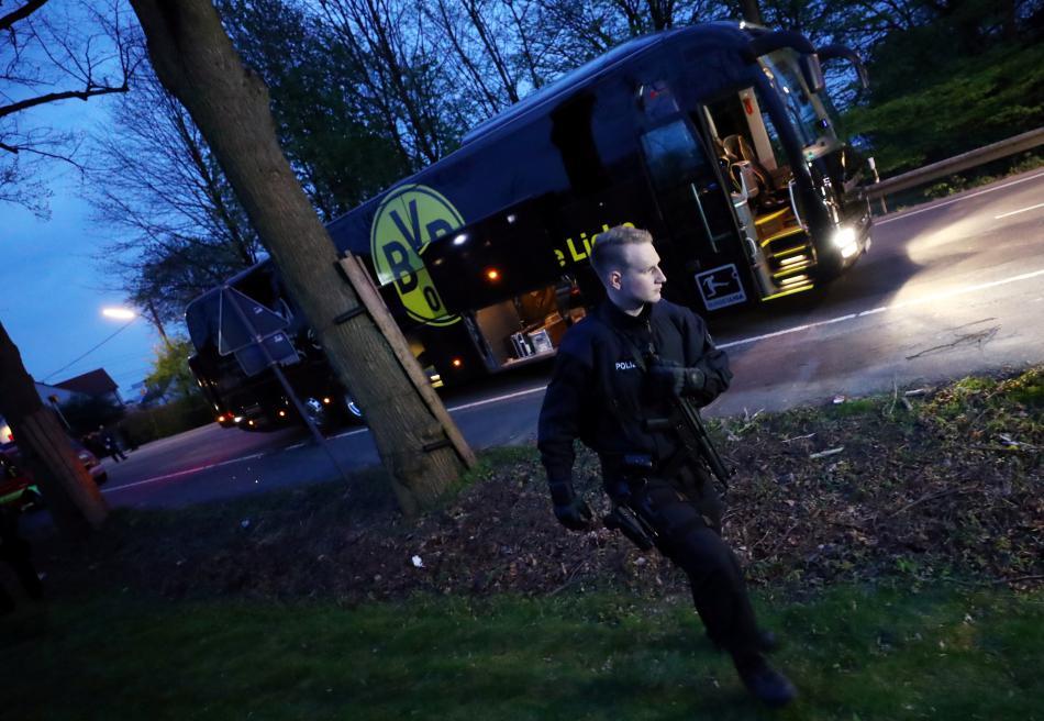 Autobus klubu Borussia Dortmund