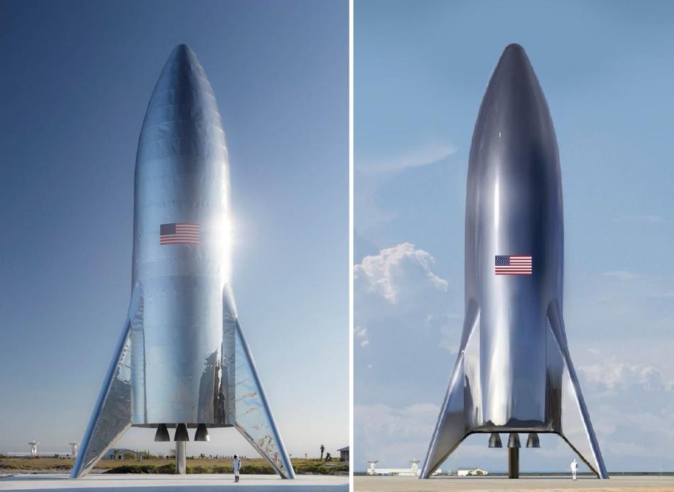 Prototyp a vizualizace lodi Starship