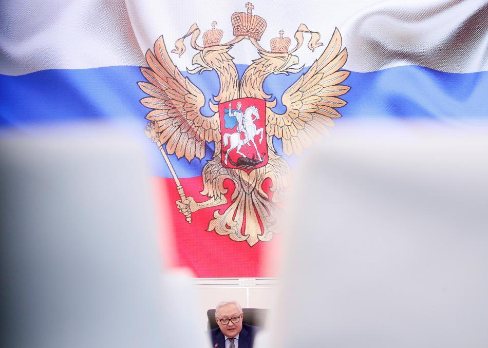 Náměstek ruského ministra zahraničí Sergej Rjabkov