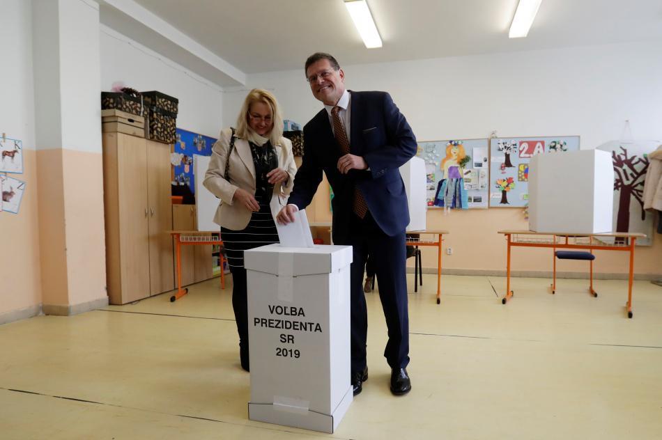 Maroš Šefčovič u prezidentských voleb